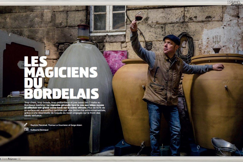 Les magiciens du bordelais – Extraits du Hors-série de Technikart (Février 2020)